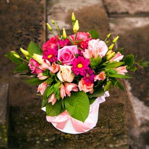 Цветы в коробке #6