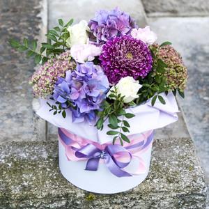Цветы в коробке #34