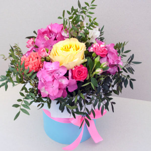 Цветы в коробке #37