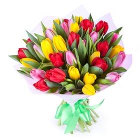 Букет 35 тюльпанов