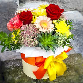 Цветы в коробке #15