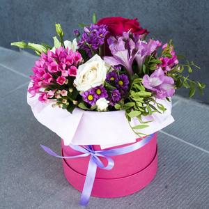 Цветы в коробке #30