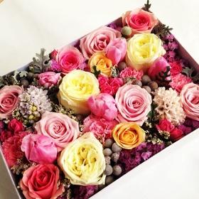 Цветы в коробке# 21