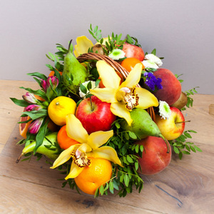 Корзина с фруктами #10