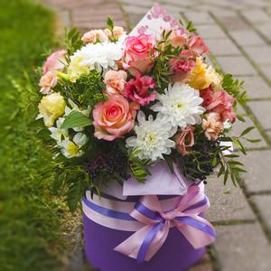 Цветы в коробке #29