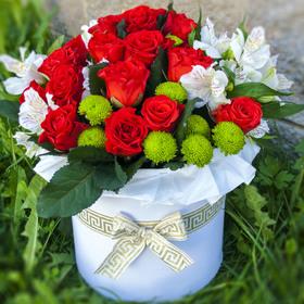 Цветы в коробке #7