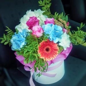 Цветы в коробке #26