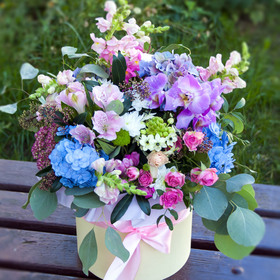 Цветы в коробке #5