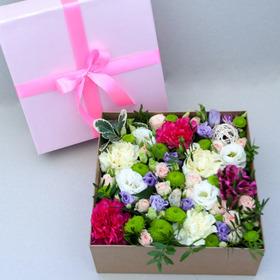 Цветы в коробке #32