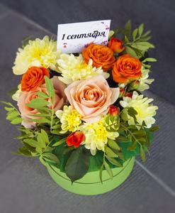 Цветы в коробке #13