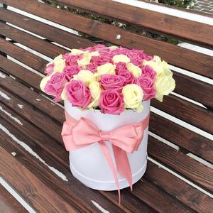 Цветы в коробке #16