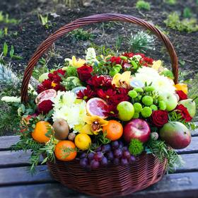 Корзина с фруктами #2