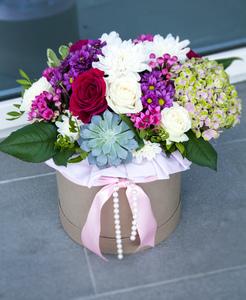 Цветы в коробке #36