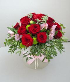 Цветы в коробке #22