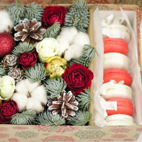 Новогодняя коробка #4