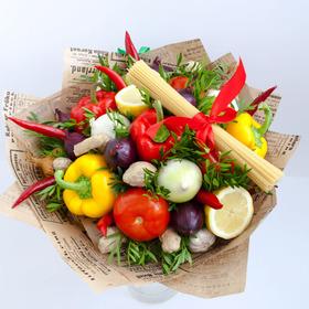 Букет из овощей #7