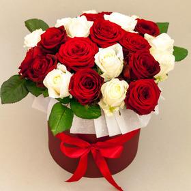 Цветы в коробке #35