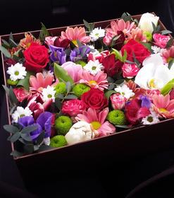 Цветы в коробке #19