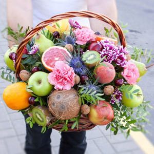 Корзина с фруктами #6