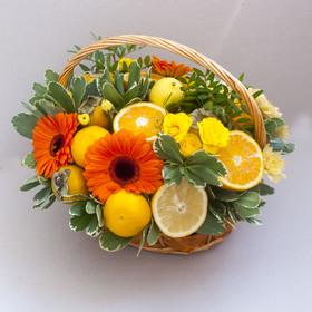 Корзина с фруктами #7