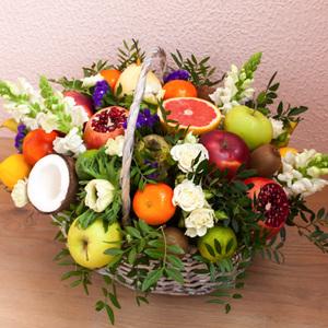 Корзина с фруктами #11