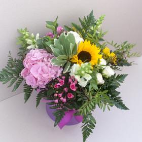 Цветы в коробке #40