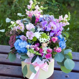 Цветы в коробке #9