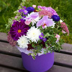 Цветы в коробке #27