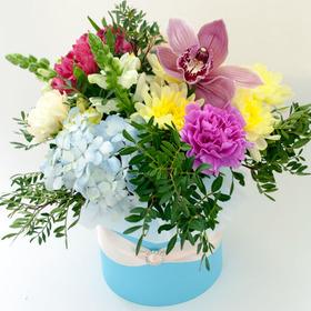 Цветы в коробке #18