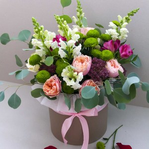 Цветы в коробке #4
