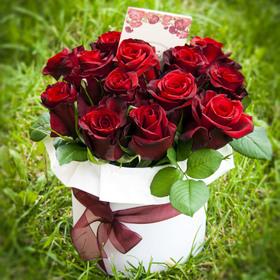 Цветы в коробке #12