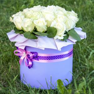 Цветы в коробке #11