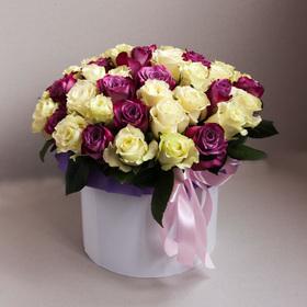 Цветы в коробке #8