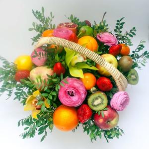 Корзина с фруктами #3